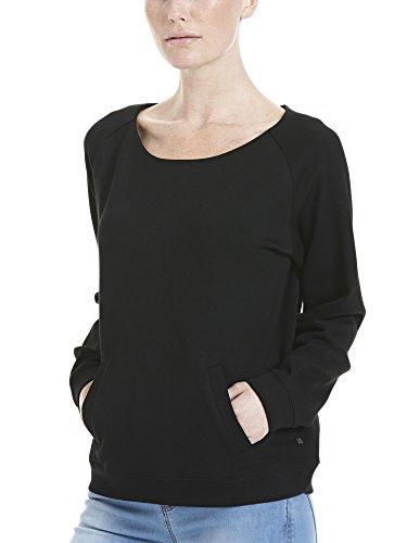 Bench Void Sweaty, T-Shirt Donna Schwarz (Black BK022)