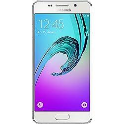 Samsung Galaxy A3 2016 Smartphone débloqué (Ecran: 4,7 pouces - 16 Go - Android 5.1) Blanc (Import Allemagne)