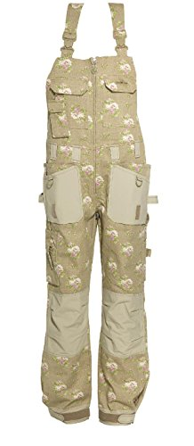 GardenGirl GGH0542 Roses Pattern Dungaree - 16 UK (42 EU)