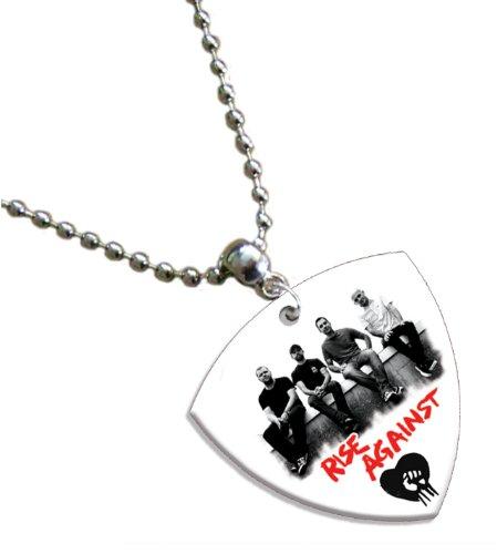 Rise Against Bass Pick Kette Band Plektron (Rise Bands Against)