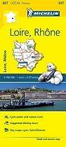 Loire, Rhone - Michelin Local Map 327
