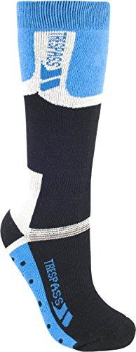 Trespass Kinder Unisex Eton Ski-Socken (31-36 EUR/12 Youth/3 UK) (Kobalt)