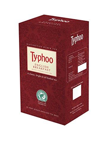 Typhoo English Breakfast Tea, 25 Tea Bags