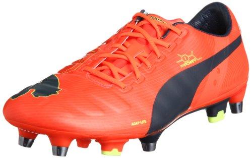 Puma evoPOWER 1 Mixed SG Herren Fußballschuhe Rot (fluro peach-ombre blue-fluro yellow 01)