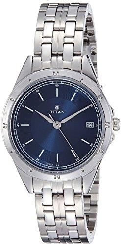 Titan Analog Blue Dial Women's Watch -NK2556SM02