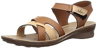 PARAGON SOLEA Women's Tan Sandals