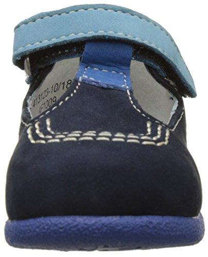 Kickers Babyfresh, Chaussures Premiers pas Bébé Garçon Bleu (Marine Bleu)