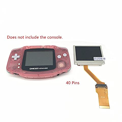 Haodasi Highlight Backlit Bright Retro-eclairage lumineux Lcd Screen Ecran &40 Pin Backlit Mod Ribbon Cable Adapter for Nintendo GameBoy Advance GBA