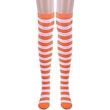 Rcool Medias Calcetines hasta la rodilla Medias autoadhesivas Medias de liga,1 par muslo calcetines