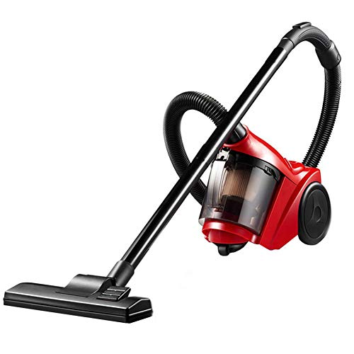 DWGYQ Harte Floor Experte Multi-Cyclonic Bagless Kanister Vacuum, mit 2-in-1 Crevice Tool und HEPA Filter, Energy-Saving Speed Control, 1000W, Corded