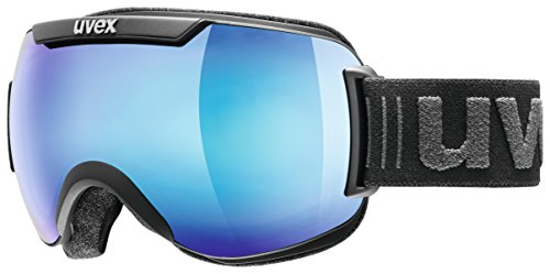 Uvex Downhill 2000 Fm Skibrille, black mat, One Size