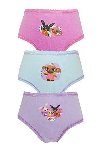 Cartoon Character Products CBeebies Bing Girls Pants/Knickers 18 Mesi 5 Anni