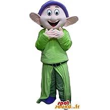 mascota SpotSound Mudito, famoso enano Blancanieves