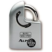 Burg wächter alpha titan 900 - Candado sin cilindro cierre acero