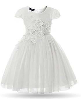 Cielarko Mädchen Kleid Blume Ohne Arm
