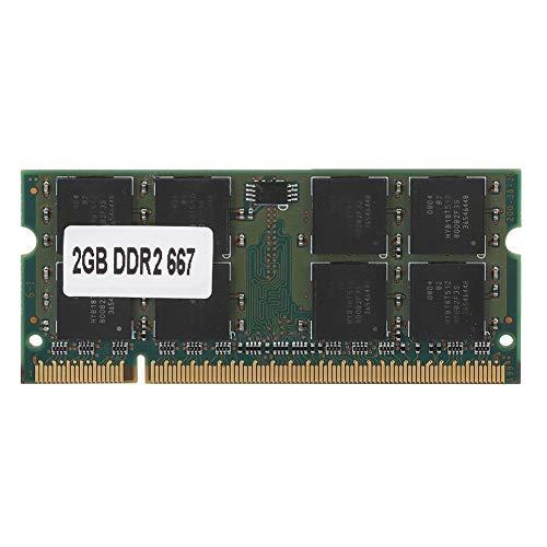 ASHATA DDR2 Speicher, PC2-5300 Laptop Speicher DDR2 667 MHz 2GB Ram 200Pin Modul Board,Computer Arbeitsspeicher für Intel/AMD Motherboard