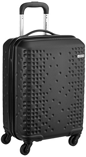 American Tourister Cruze ABS 55 cms Black Hardsided Carry-On (AN6 (0) 09 001)
