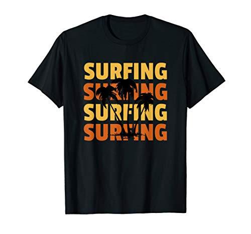SURFING - Ich liebe Sommer, Sonne, Strand und Meer. T-Shirt