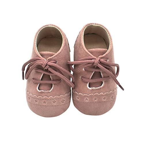 er Baby Jungen Mädchen Schuhe Wildleder Kleinkinder Schuhe Rutschfeste Mode Lässig Prewalker Schuhe Geeignet für 6-18 Monate Kleinkind Slip-On-Verschluss ()