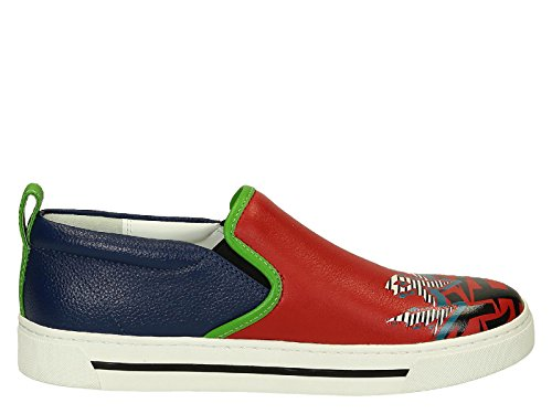 MARC BY MARC JACOBS SLIP ON SNEAKERS DONNA S5646033 PELLE MULTICOLOR