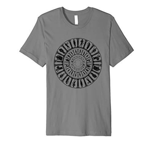 Griechische Götter Vortex T-Shirt Antike Griechenland Mythologie Portal Antike Tee