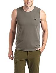 MAIER SPORTS Herren Funktionsshirt Peter aus 100% PES in 11 Größen und vielen Farben, Shirt/ Tanktop/ Funktions-Shirt, ärmellos, schnelltrocknend, atmungsaktiv und pflegeleicht