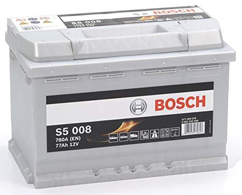 Bosch-S5008 Batteria Silver Auto 77A/h-780A