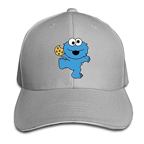 Baseball Caps Golf Hats Unisex Caps Blaue Monster Cookies Strapback Einstellbar