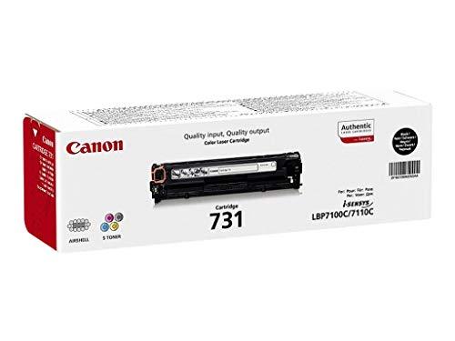 Canon 731 Bk original Toner Schwarz für ISensys Laserdrucker (Canon 251 Tinte Gelb)