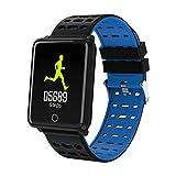 Smartwatch Wasserdicht IP68, Elospy Smart Watch Uhr mit Pulsmesser Fitness Tracker Sport Uhr Fitness Uhr mit Schrittzähler,Schlaf-Monitor,Stoppuhr,Call SMS Push für Android und iOS