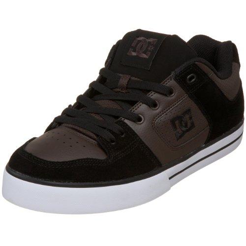DC Shoes Pure Slim Mens Shoe, Chaussures de Skateboard Hommes