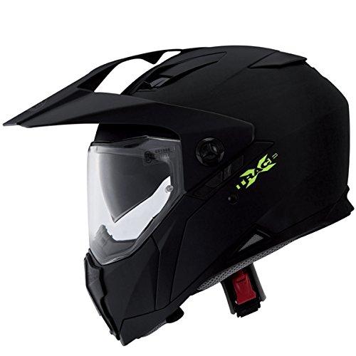 Caberg X-Trace Casco Motocross Integrale Motard con Doppia Visiera Omologato ECE 22.05 Caschi Moto Cross XL(61-62cm)