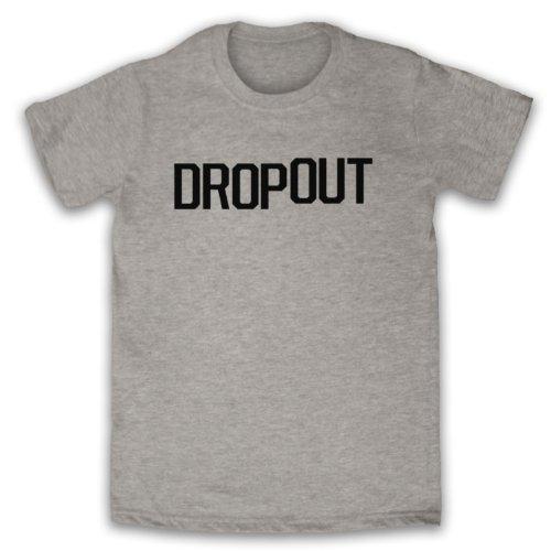 Dropout Funny Slogan Herren T-Shirt Grau