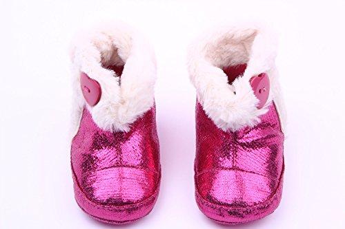 xhorizon ® Niedlich Bezaubernd Baby Jungen Mädchen Ich liebe Mutter/Ich liebe Vater Kleinkind Sport Locker Schuhe Y253 glänzende Schuhe