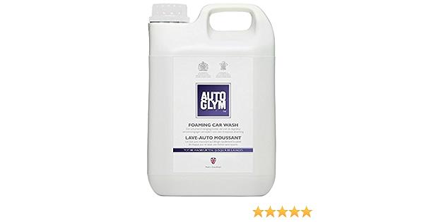Autoglym 945105805 Foaming Car Wash Shampoo 2 5lt Weiß 2 5 L Auto