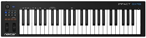 Nektar Impact GX49 USB MIDI Controller Keyboard with DAW Integration