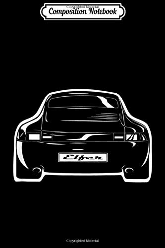 Composition Notebook: 911 Turbo Sports Car Oldtimer Youngtimer Automobile Tee  Journal/Notebook Blank Lined Ruled 6x9 100 Pages