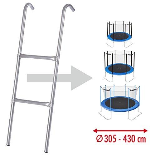 Ultrasport Leiter für Trampolin – passend für viele gängigen Größen (305, 366 und 430 cm) - 3