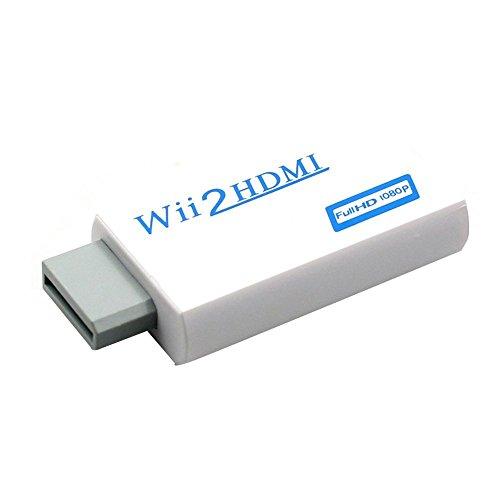 Green-state HDMI-Konverter (Wii zu HDMI, 720P / 1080P, HD Ausgang, unterstützt alle Wii-Display-Modi auf HDTV und Monitor 1 Hdtv Display