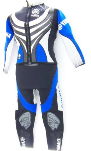 Yamaha Long John Vestito/Completo Giacca + Pantalone da Uomo in Neoprene per Sci d' Acqua Wakeboard Surf kiten Jetski Kayak Sport Acquatici, Uomo