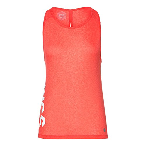 Maillot femme Asics Layering corail