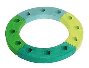 Lime Compleanno legno anello verde-turchese, Grimm's