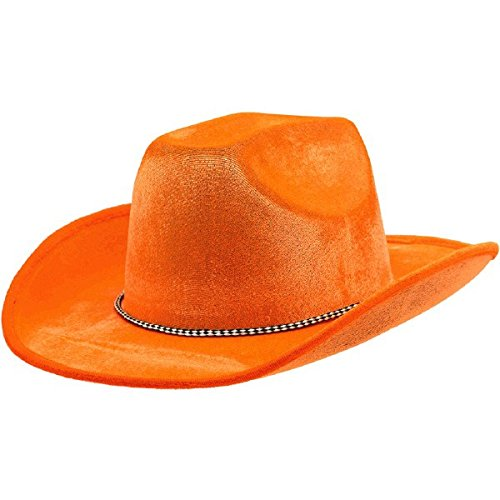 Amscan Orange Cowboy Hat