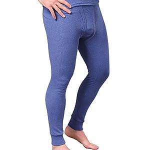 MT® Herren Thermo Unterhosen warm, weich und atmungsaktiv durch Klimafaser M-3XL – lange Herren Sport-Funktions Unterhose