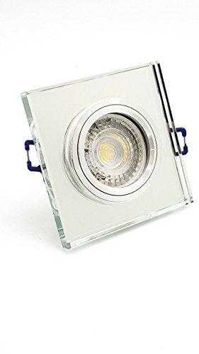 IG LDV - Foco Empotrable Cristal Espejo Mirror Cuadrado