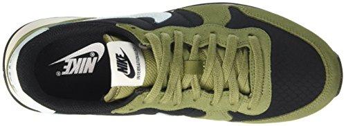 Nike Damen Wmns Internationalist Low-Top Schwarz (Black/glacier Blue/palm Green/sail)