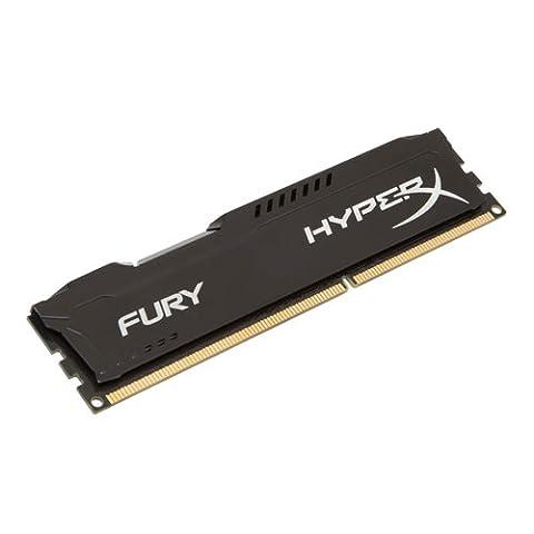 HyperX Fury HX313C9FB/4 Mémoire RAM 4Go 1333MHz DDR3 CL9 DIMM Noir