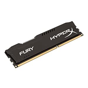HyperX HX313C9FB/4 FURY Black, 4 GB, 1333 MHz DDR3 CL9 DIMM