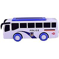 Preisvergleich für Black Temptation Licht Musik Auto Auto Mini Polizei Schulbus Kinder S Spielzeug, A1