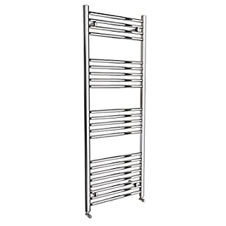 Requena Heated Towel Rail Chrome Bathroom Ladder Radiator - All Sizes (Straight, 1600 x 600)